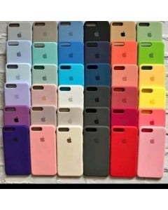Case capinha de silicone aveludado para IPhone 7/8 PLUS