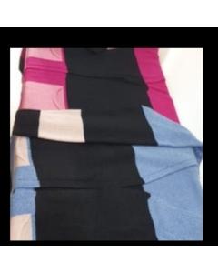 Cardigan de tricot em mousse