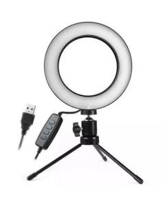 Ring light de mesa iluminandor 6 polegadas