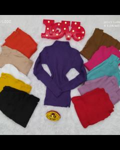 Blusa de tricot poliéster disponível em várias cores