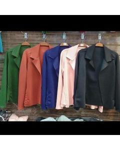 Blazer de neo preme disponível em várias cores veste até manequim 44