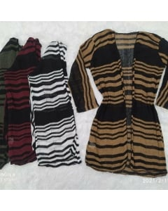 Kimono de tricot disponível em várias cores
