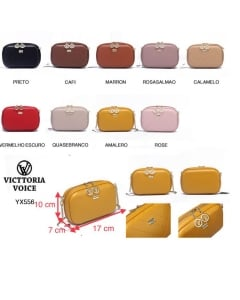 YX556 - Bolsa Transversal Victtoria Voice