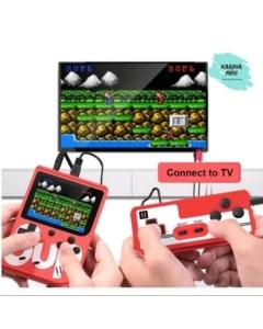 Mini game portátil com controle Sup 400 jogos retro com controle acompanha cabo