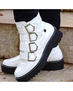Botas Fivelas Xeiro de Xiclete Shoes