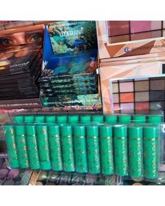 Cartela de batom verde