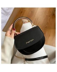 Bolsa transversal/mão com alça corrente YY Fashion